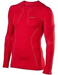 Falke Unterwäsche Wool Tech Longsleeve Shirt Comfort sous-Vêtements Homme