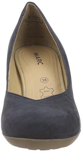 Marc Shoes - Elle, Scarpe col tacco Donna Blu (Blau (marine 760))