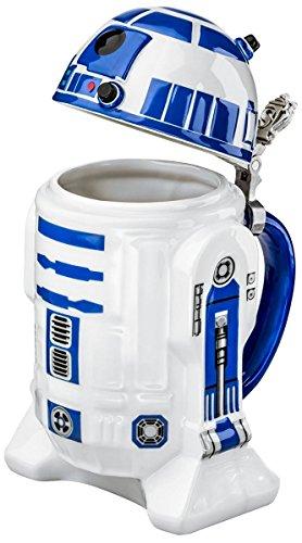 Star Wars SW01638 - Jarra de cerveza, diseño R2D2, 25 cm, color...