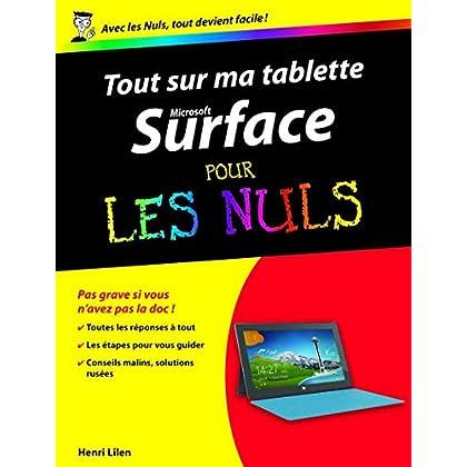 Tout sur ma tablette Microsoft Surface Pour les Nuls