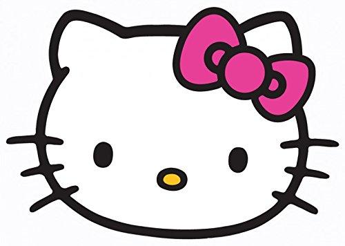 Hello Kitty 6 Einladungskarten