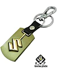 Kp Maruti Suzuki Car Key Chain Ring, Metal Steel Imported Key Chain Ring Car Logo