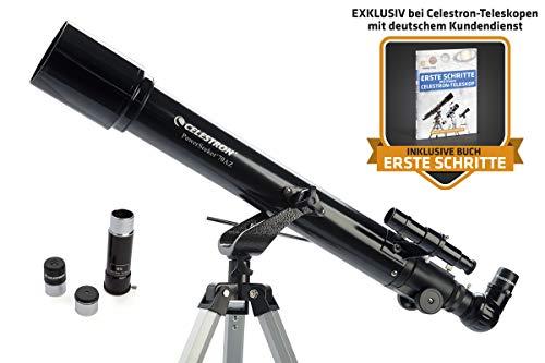Celestron PowerSeeker 70 AZ - 70/700 Refraktor Teleskop