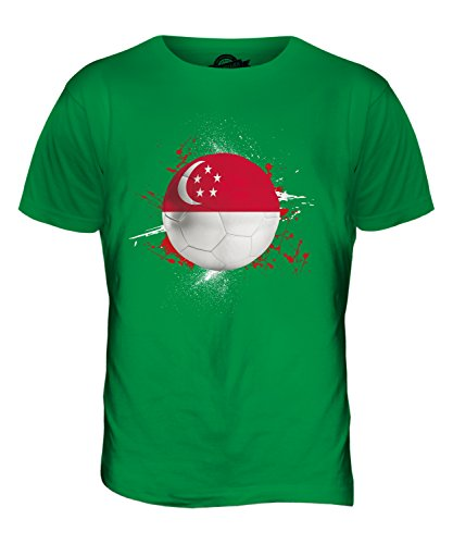 CandyMix Singapur Fußball Herren T Shirt Grün