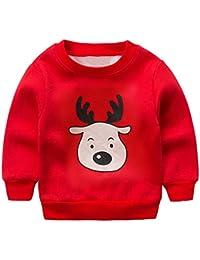 Riou Weihnachten Baby Kleidung Set Kinder Pullover Pyjama Outfits Set Familie Kleinkind Kinder Mädchen Jungen... preisvergleich bei kinderzimmerdekopreise.eu