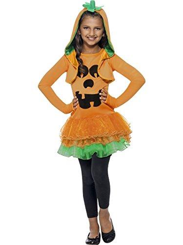 Smiffy's Calabaza vestido con tutú – Halloween – Childrens Disfraz