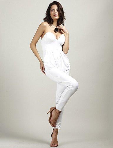 GSP-Combinaisons Aux femmes Sans Manches Sexy/Moulant Polyester Moyen Micro-élastique black-l