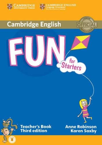 Fun for Starters, Movers and Flyers. Starters. Teacher's Book. Con File audio per il download