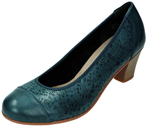 Remonte Dorndorf, Scarpe col tacco donna Blu Mare Blu (Mare)