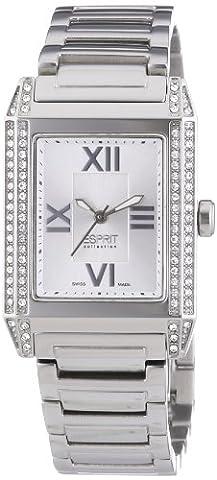 Esprit Collection - EL101202S07 - Xanthe - Montre Femme - Quartz Analogique - Cadran Argent - Bracelet Acier Argent