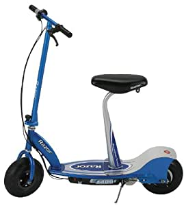 Razor E300S Electric Scooter With Seat - Blue