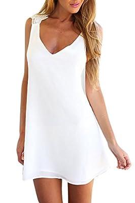 Azbro - Mini Vestido Blanco
