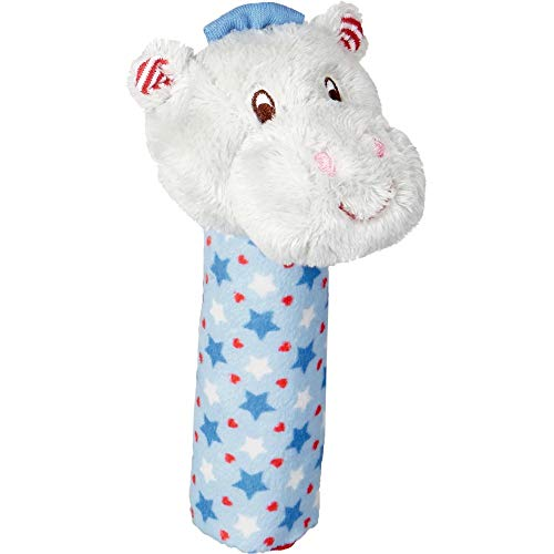DIE SPIEGELBURG Serie Baby Glück Hipp, Hipp, Hippo! Nilpferd (Quietscher Hippo blau) - Schwangerschaft-serie