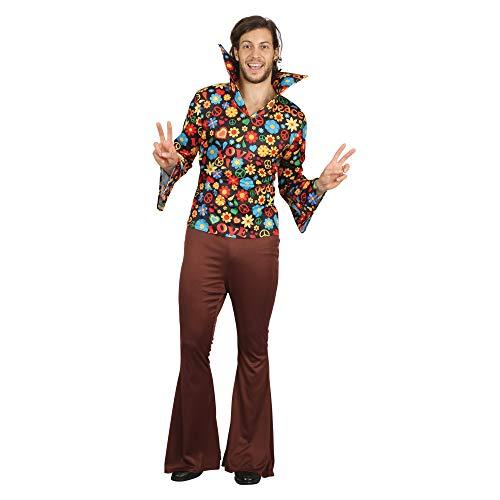 (Bristol Novelty AF093 Hippy Man, Herren, mehrfarbig, Einheitsgröße)