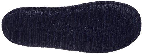 Giesswein Paulsdorf, Chaussons Mules Doublé Chaud Homme Bleu (dk.blau / 548)
