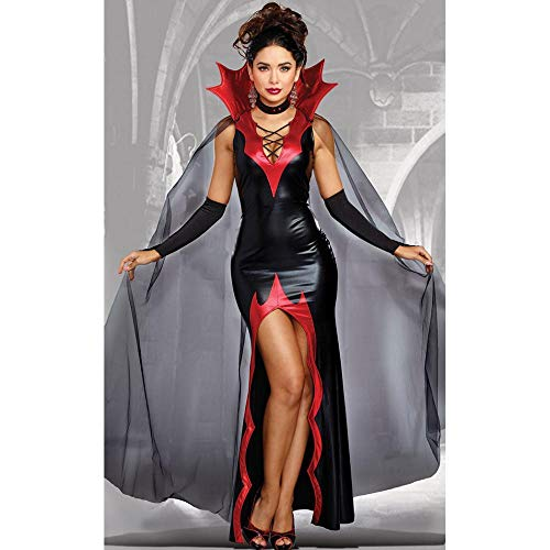 WWAVE Damen Halloween Kostüm Paintball Party Magic Vampir weiblichen Teufel Kostüm Cosplay Uniform