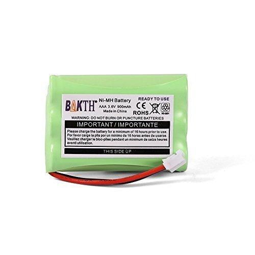 BAKTH 900mAh Batteria di ricambio da 3.6V Ni-MH per Motorola MBP33 MBP36 MBP33S MBP36S MBP-33S MBP-3