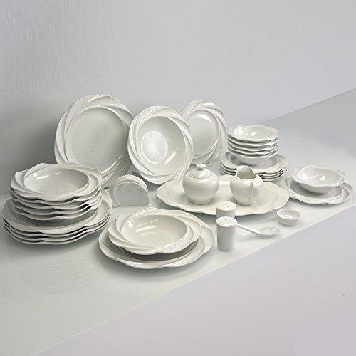 Unbekannt Altenbach Designer Porzellan Kombiservice Tafelservice Geschirrset 34 TLG. für 6 Personen JD4382