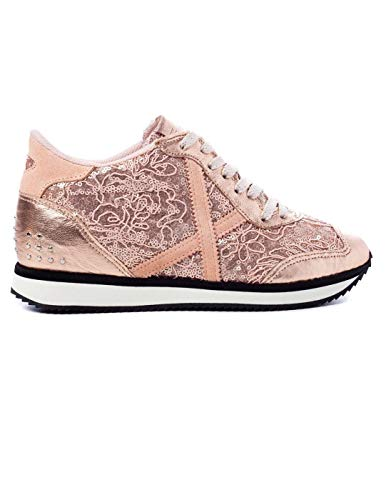 2463f4a0583 Sneaker Munich Zapatillas Munich Heaven 32 Mujer 38 Rosa