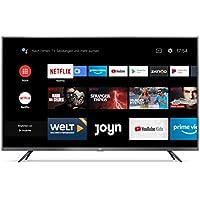 "Xiaomi Mi Smart TV 4S 43"" (4K Ultra HD, Triple Tuner, Android TV 9.0, Fernbedienung mit Mikrofon, Amazon Prime Video und Netflix)"