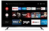 Xiaomi Mi Smart TV 4S 43' (4K Ultra HD, Triple Tuner, Android TV 9.0, Fernbedienung mit Mikrofon, Amazon Prime Video und Netflix)