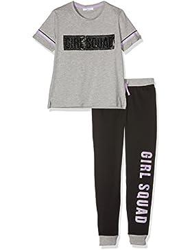 New Look Mädchen Pyjama-Sets Squad