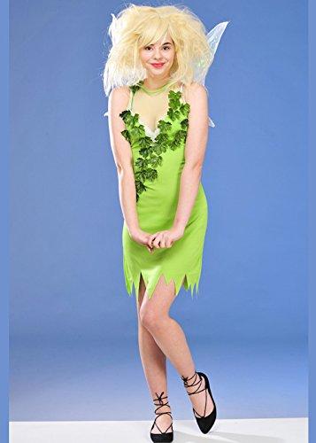 Erwachsene Damen Tinkerbell Stil Fairy Kostüm Small (UK -