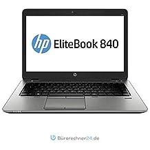 HP Elitebook 840 G2 - Premium Business-Notebook - Intel Core i5 - 2,30GHz, 500GB SSD, 16 GB RAM, 14 zoll Zoll 1920x1080 Full-HD-Touchscreen, Windows 10 Pro - (Generalüberholt)