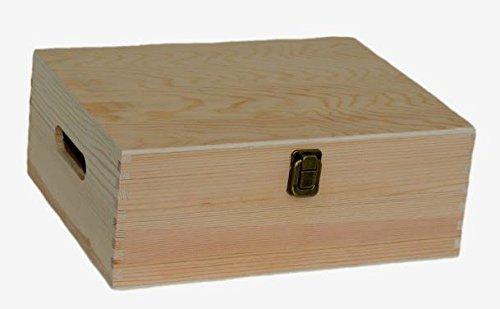 Red Hamper Rouge Hamper Bouteille en Bois Porte-boîte, Brown, 30 cm Marron, Dimensions: (L x L x H) 23 x 30 x 11 cm