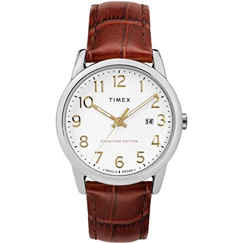 Timex Orologio Analogico Automatico Unisex Adulto con Cinturino in Pelle TW2R65000