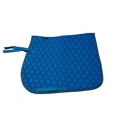 GCSEY Schabracken Saddle Pad, Satteldecke Numnah Dressage Cotton Quilted Horse Satteldecke Horse Riding Soft -