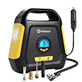 Tyre Inflator, CREMAX Car Air Compressor Pump, 12V DC Portable Automotive Air Pump