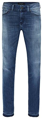 Scotch & Soda Maison Damen Slim Jeans La Bohemienne-New Fade, Blau (New Fade 1993), W28/L32 (Denim Bekleidung Fade)