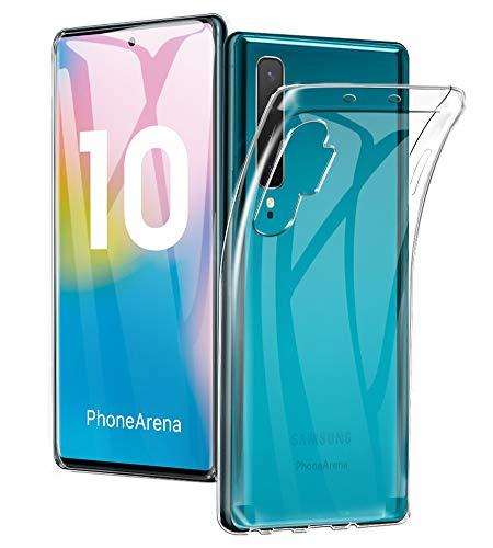 A-VIDET Coque Galaxy Note 10+/Plus/Pro/5G,Coque en Silicone Ultra-Mince Etui Souple Mate Couverture Complète Anti-Choc Digitale Coque de Protection Simple pour...
