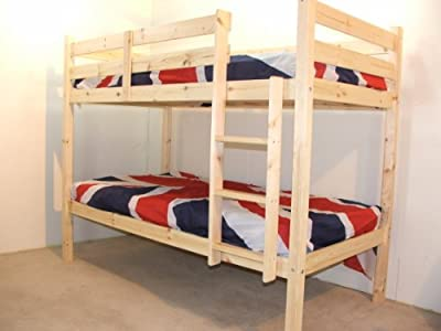 Adult Bunkbed - 2ft 6 Small Single Bunk Bed - VERY STRONG BUNK! - Contract Use - cheap UK Bunkbed shop.