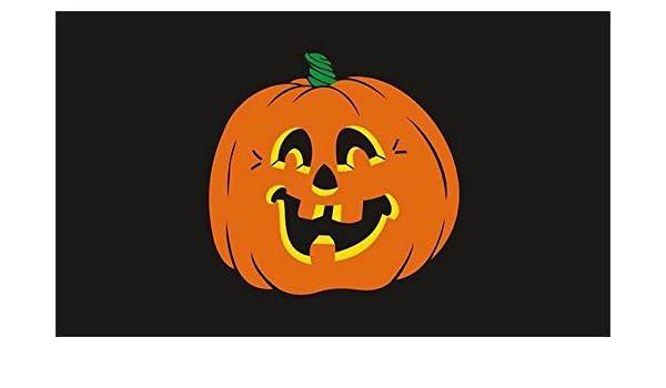 Pumpkin Halloween 3/' X 2/' 3ft x 2ft Flag With Eyelets Premium Quality Decoration