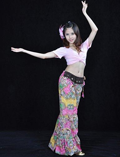 Astage - Pantalon de sport - Femme Rose-Orange