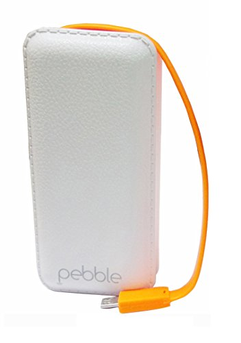 Pebble PPC44BUC 4400mAH Universal Pocket Charger (White)