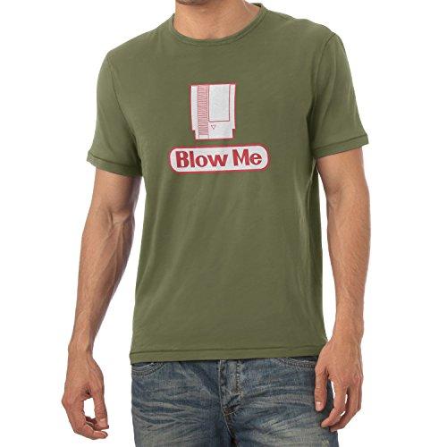 TEXLAB - Blow Me - Herren T-Shirt Oliv
