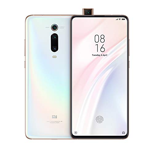 Xiaomi Mi 9T Pro - Smartphone con Pantalla AMOLED Full-Screen de 6,39' (Qualcomm SD 855, Selfie Pop-up, Triple Cámara de 13 + 48 + 8 MP, 4000 mAh, con NFC, 6+64 GB), Blanco Perla [Versión española]