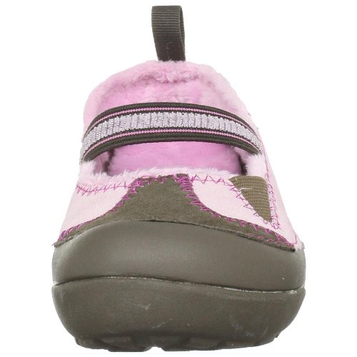CROCS Enfants - Ballerina DAWSON MARY JANE - bubblegum berry Chocolate/Bubblegum