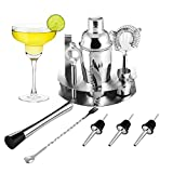 OCDAY Cocktailshaker Set, Premium 12-teiliges Edelstahl Cocktail-Set:...