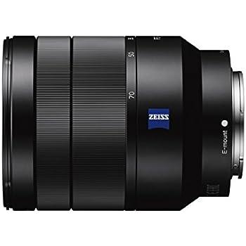 Sony SEL2470Z - Objetivo ZA OSS montura E para Sony/Minolta (distancia focal 24-70mm, apertura f/4, estabilizador digital) color negro