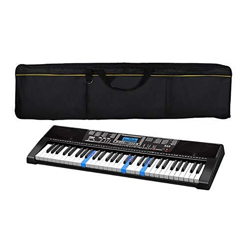 Schutzhülle für Synthesizer mit 88 Tasten, elektronisch, Klavier, elektrisch, Electronic Keyboard Pack Schwarz Housse pour clavier 88 touches