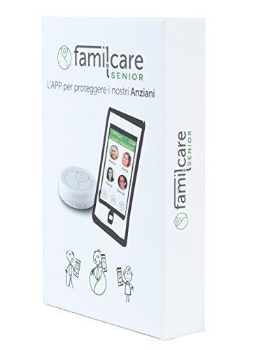 famil.care Senior ANNUALE COMPLETO - proteggi il tuo mondo. Dispositivo di emergenza ed SOS per anziani.