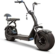 Fat Tire Electric Scooter - Black