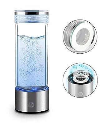 RESH Wasserflasche, tragbar,-SPE PEM, ionisierte Wasserfilter, Anti-Aging-Antioxidans, Flasche 350ml