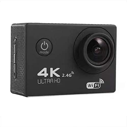 BESTSUGER Sport Camera,4K Aktionskamera, WiFi Ultra HD Unterwasser-Wasserwasser-Wasserdichte Sportkamcorder mit Fernbedienung, 170 ° Weitwinkellinsen