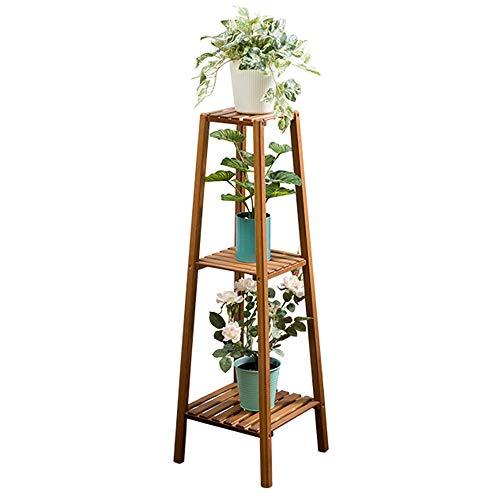 Zxwdian scaffale per piante mensola per fiori a più strati del soggiorno | contenitore per vasi di fiori al coperto carnoso da terra mensole angolari (dimensioni : 3 strati)