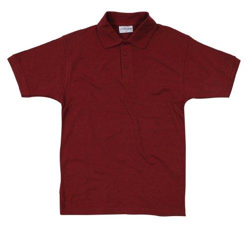 Absolute ApparelHerren Poloshirt Violett - Burgunderrot
